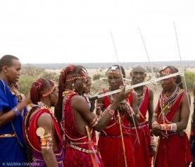 Six new Lion Guardians undergo training